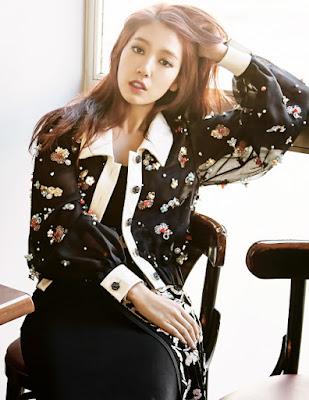 Park Shin Hye Elle November 2015