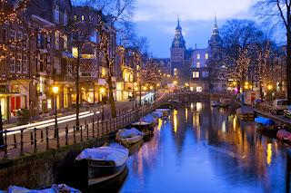 Kanalerne i Amsterdam