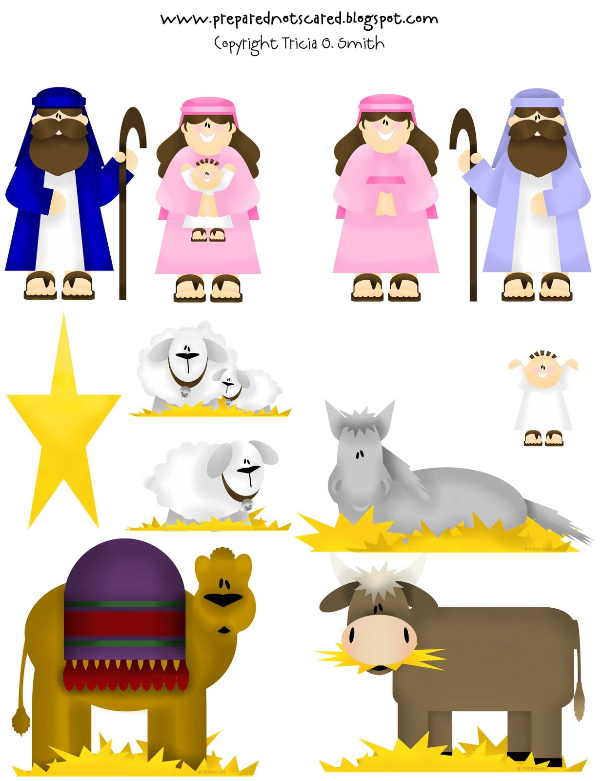 """Search Results for """"Nativity Scene Paper Cutout Characters ..."""