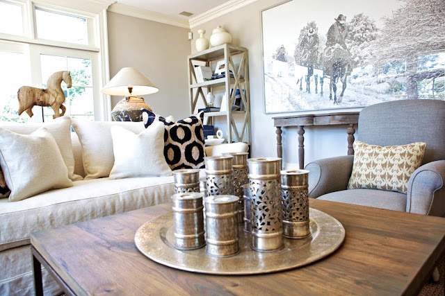 The glam pad sam allen interiors for Hollywood glam living room ideas