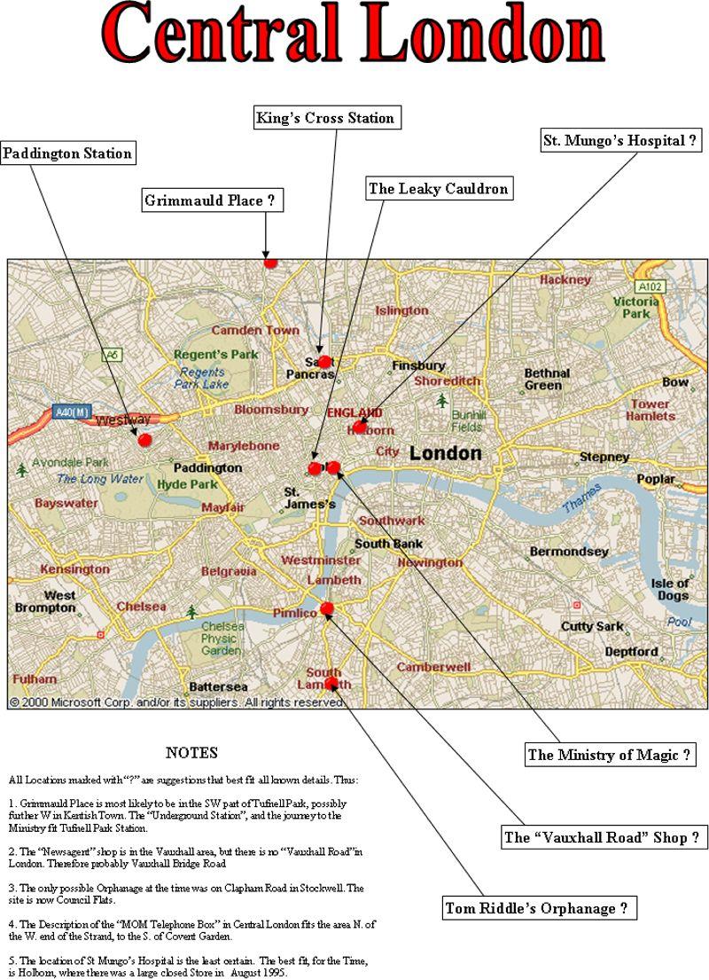 London Map - Map Pictu...
