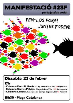 23 F...... FEM-LOS FORA!!