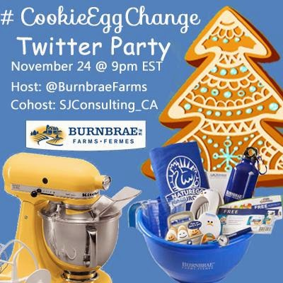 #CookieEggChange Twitter Party