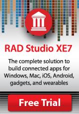 Try RAD Studio and Delphi