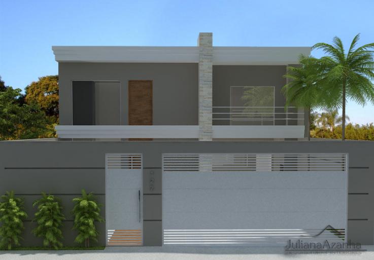 Favoritos Construindo Minha Casa Clean: Fachadas! Muros, grades e portões  ZX41