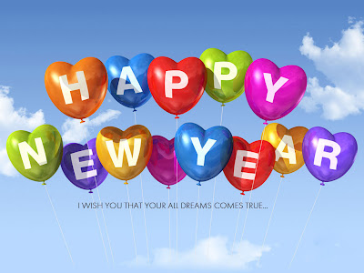Happy - New Year 2014 - Ecard for Facebook - Cover Page