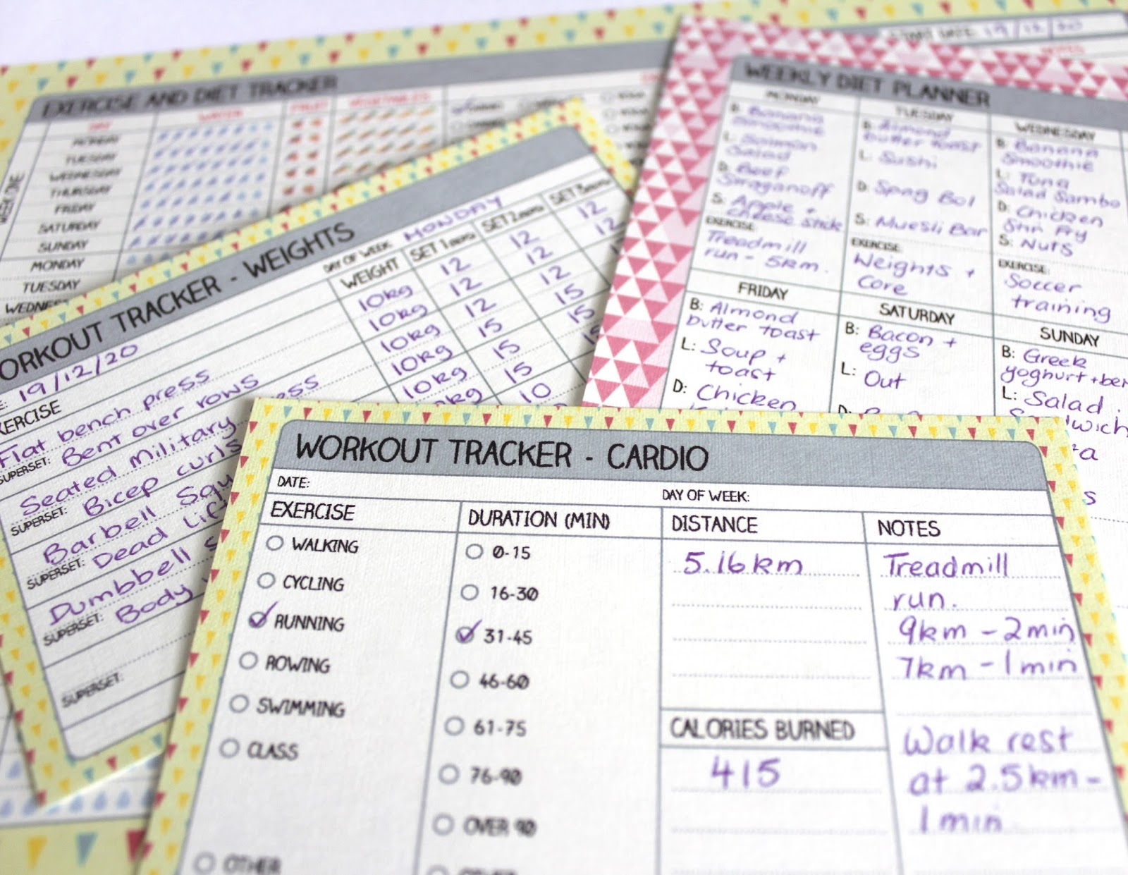excercise planner
