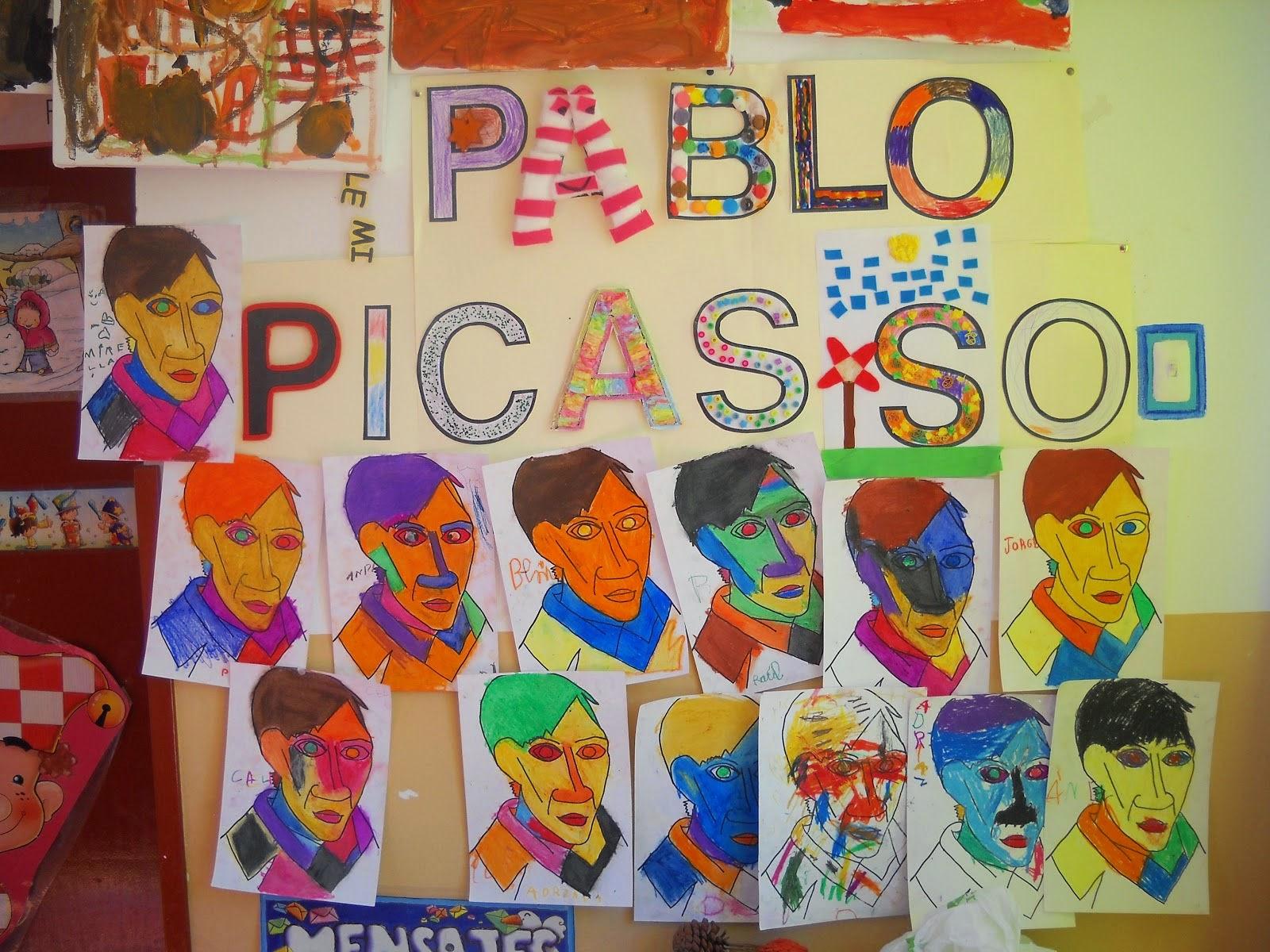 Pintores famosos pablo picasso para ni os cuadros para - Fotos y cuadros ...