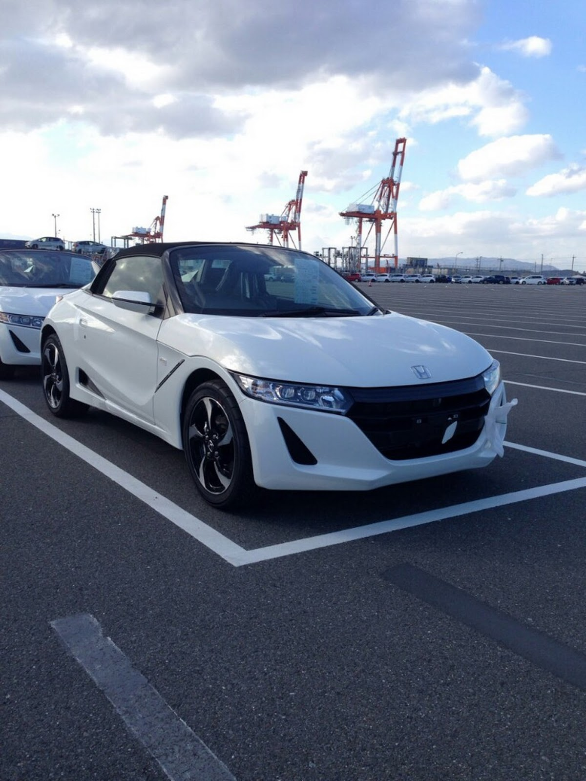 New Honda S660 Roadster Scooped Undisguised In Production ...
