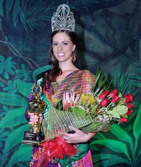 Deedee Zibara,miss earth australia 2011