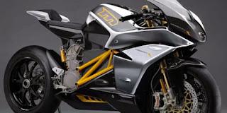 Harga sportbike listrik, tembus 240 km/h
