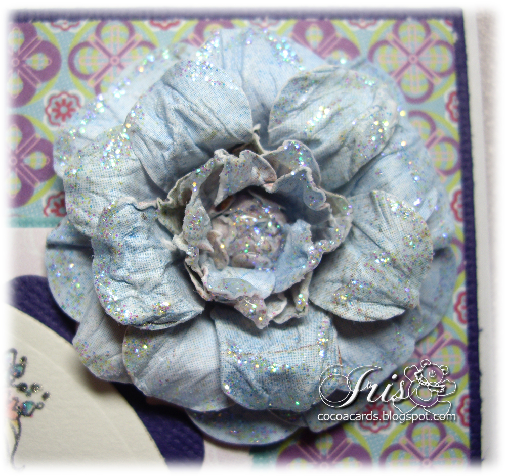Belles n whistles stamps tutorial tuesday paper flower tutorial tuesday paper flower mightylinksfo Images