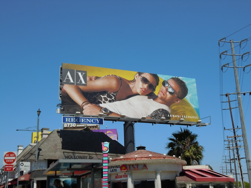 AX Summer 2011 fashion billboard