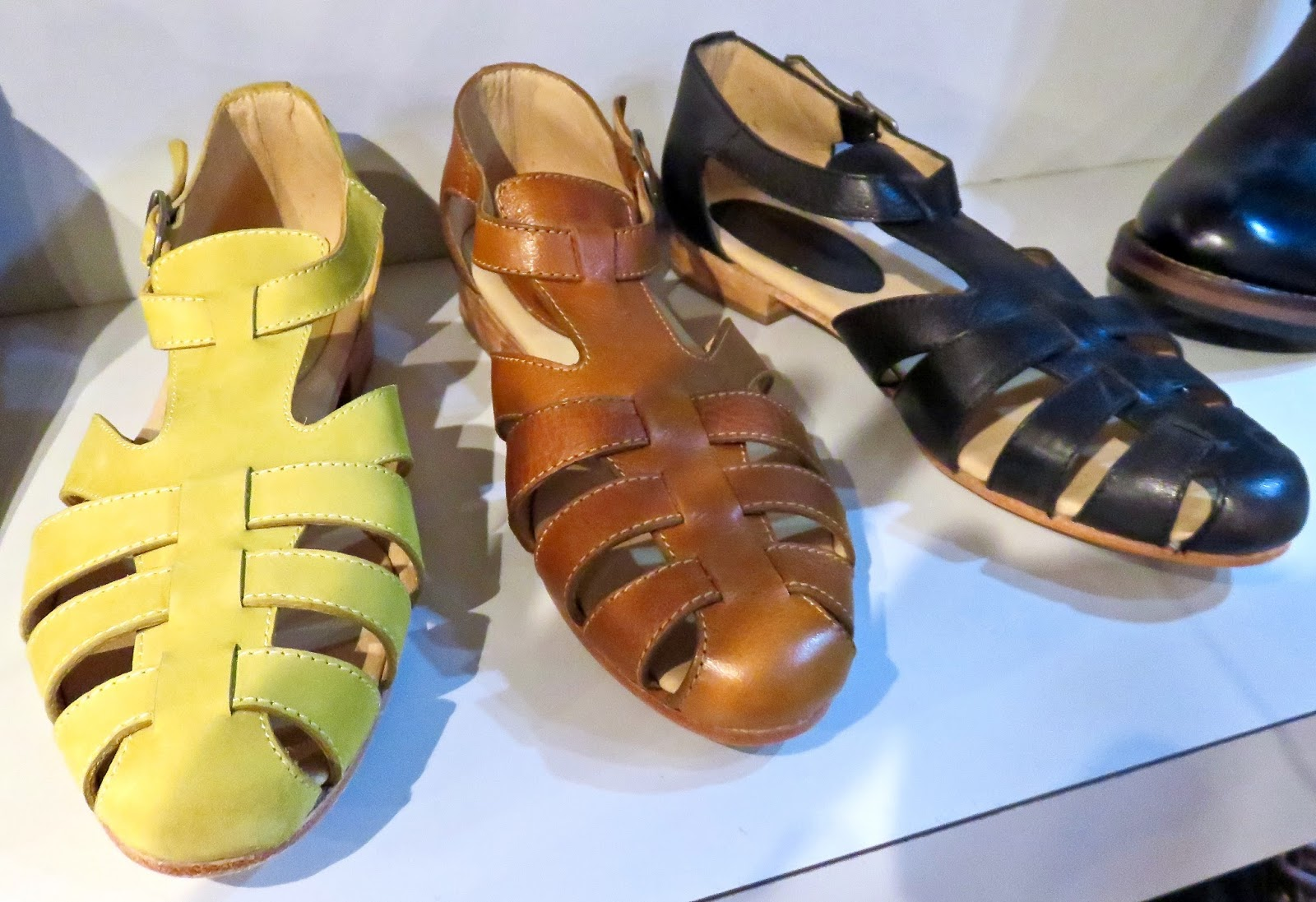 0ebbdf175d149 Fisherman sandals get feminine take-FRIEDA full grain nubuck  leather...lightweight 6.10 oz---in cream