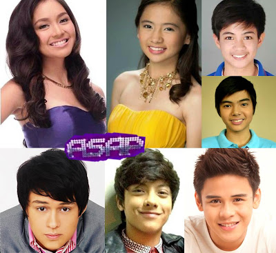 Kathryn Bernardo, Ella Cruz, Francis Magundayao, Paul Salas, and ASAP Boyfriendz Enrique Gil, Khalil Ramos, and Daniel Padilla on ASAP 2012 this August 26