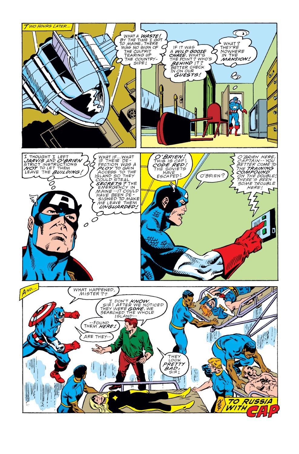 Captain America (1968) Issue #352 #284 - English 22