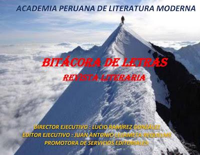 BITÁCORA DE LETRAS REVISTA LITERARIA