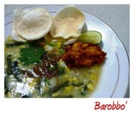 resep barobbo palopo