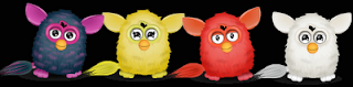 Stardoll Free Animated Yellow, Red and White Furbies