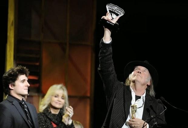 Neil Young und Ben Keiths Enkel