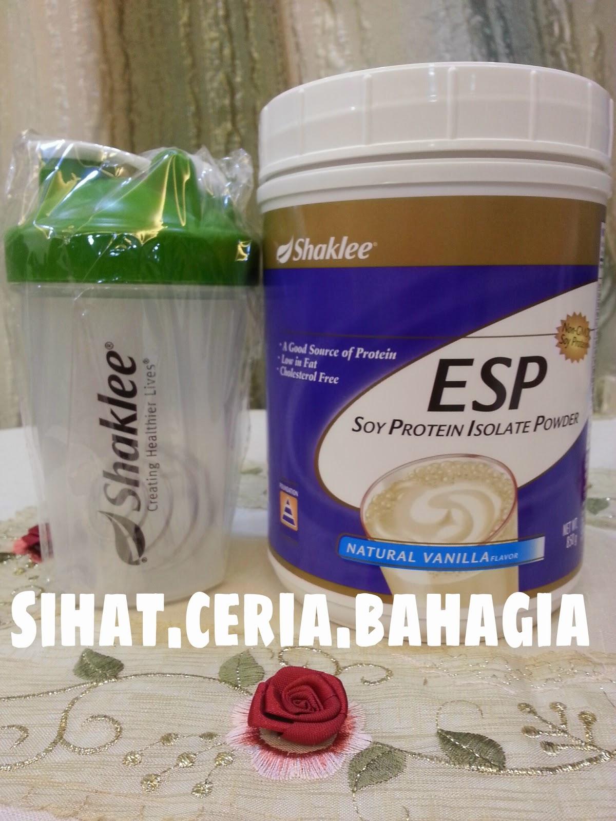 Shaker serbaguna, resepi ESP, banyakkan susu