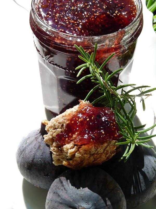 Gourmandise et cuisine confiture de figues au romarin - Cuisine et gourmandise ...