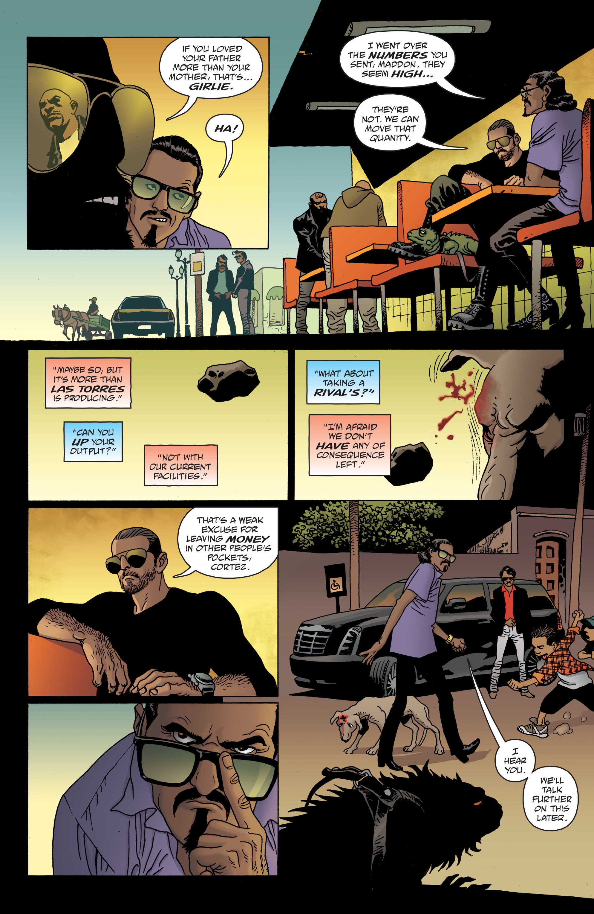 100 Bullets: Brother Lono Full Page 89