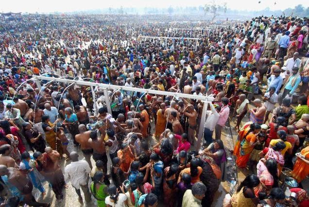 Medaram Jatara dates 2014
