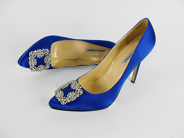 manolo blahnik wedding shoes carrie