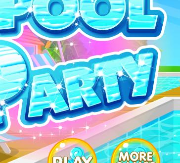 Bữa tiệc tại hồ bơi, game ban gai