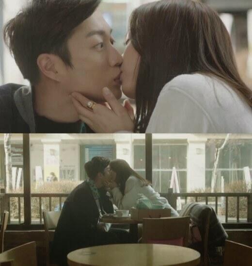 yoon sohee surprises beast doojoon with a kiss on let s eat