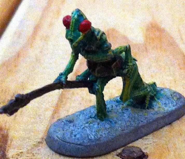 Warpstone Flux Thri Kreen Miniatures