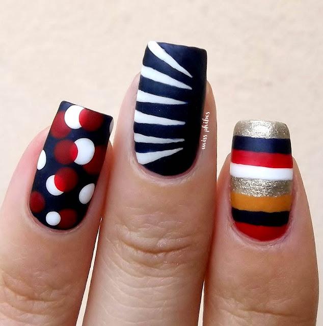 The Nanny nail art