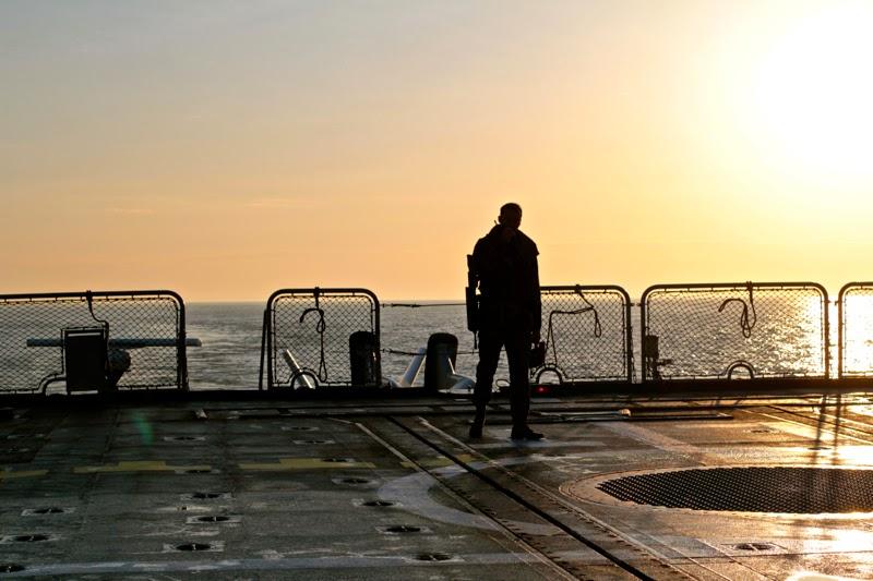 Marin fusilier héliport frégate marine nationale