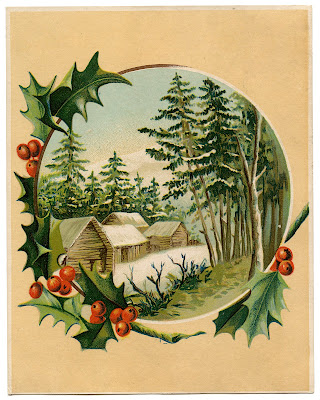 Античные сцены Зимнего изображения