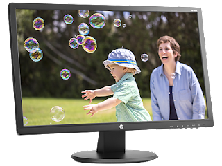 HP 24 Inch LED Backlit Monitor