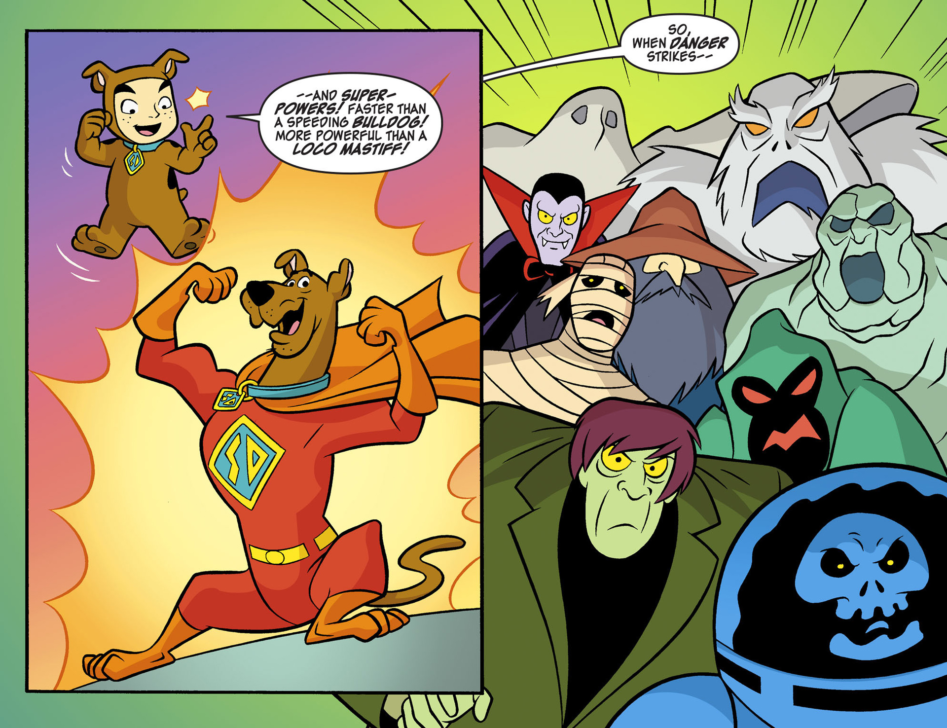 Read online Scooby-Doo! Team-Up comic -  Issue #6 - 6