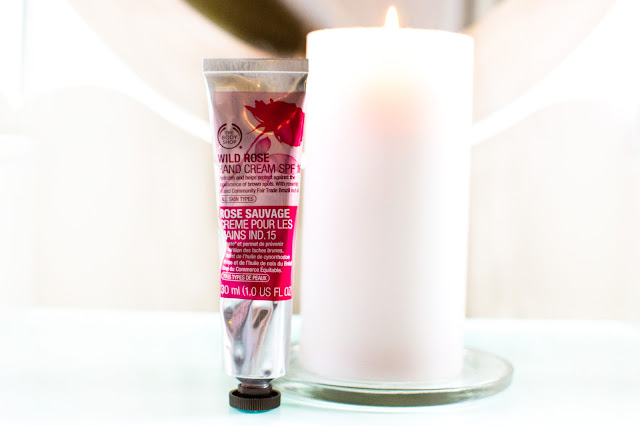 The Body Shop Wild Rose Hand Cream