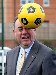 Salmond is smitten
