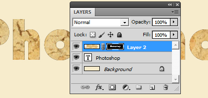 text+biskuit7 Cara membuat Text Cookies Typography dengan photoshop