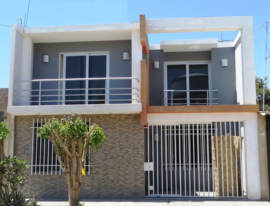 fachadas y casas casa de siete metros de frente