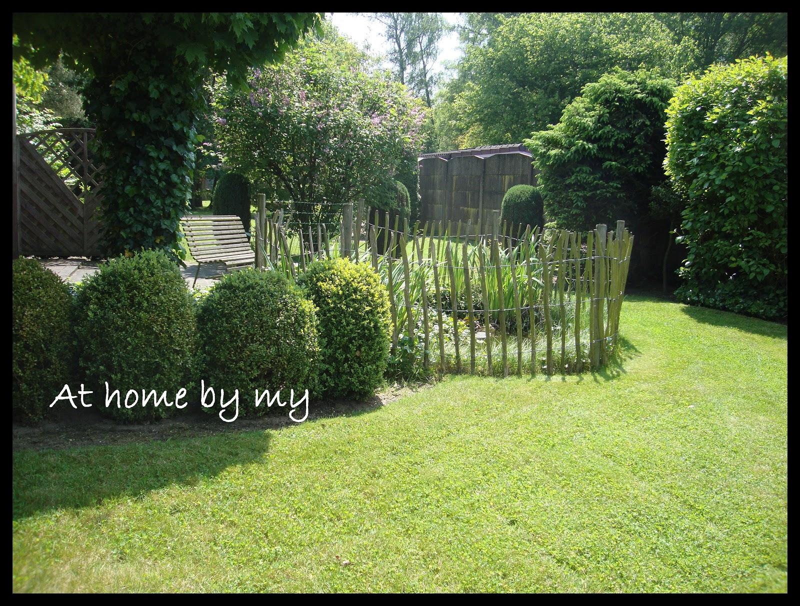At home by my een kijkje in de tuin - Hoe om te beseffen een tuin ...