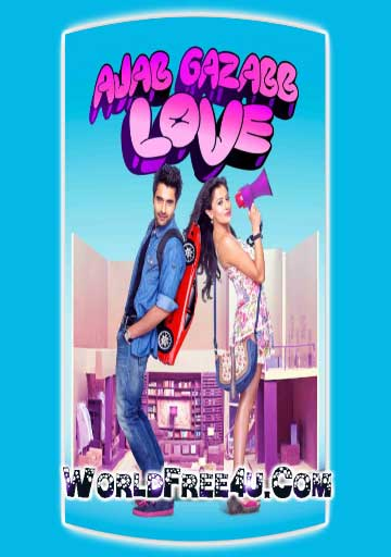 Poster Of Bollywood Movie Ajab Gazabb Love (2012) 300MB Compressed Small Size Pc Movie Free Download worldfree4u.com