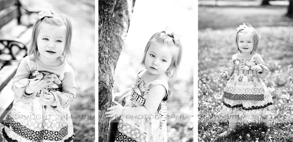 photos of toddler girl at Deming Park - Terre Haute photographer