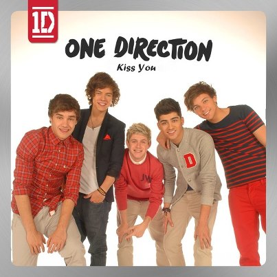 One Direction Kiss You Single CoverOne Direction Kiss You Single Cover