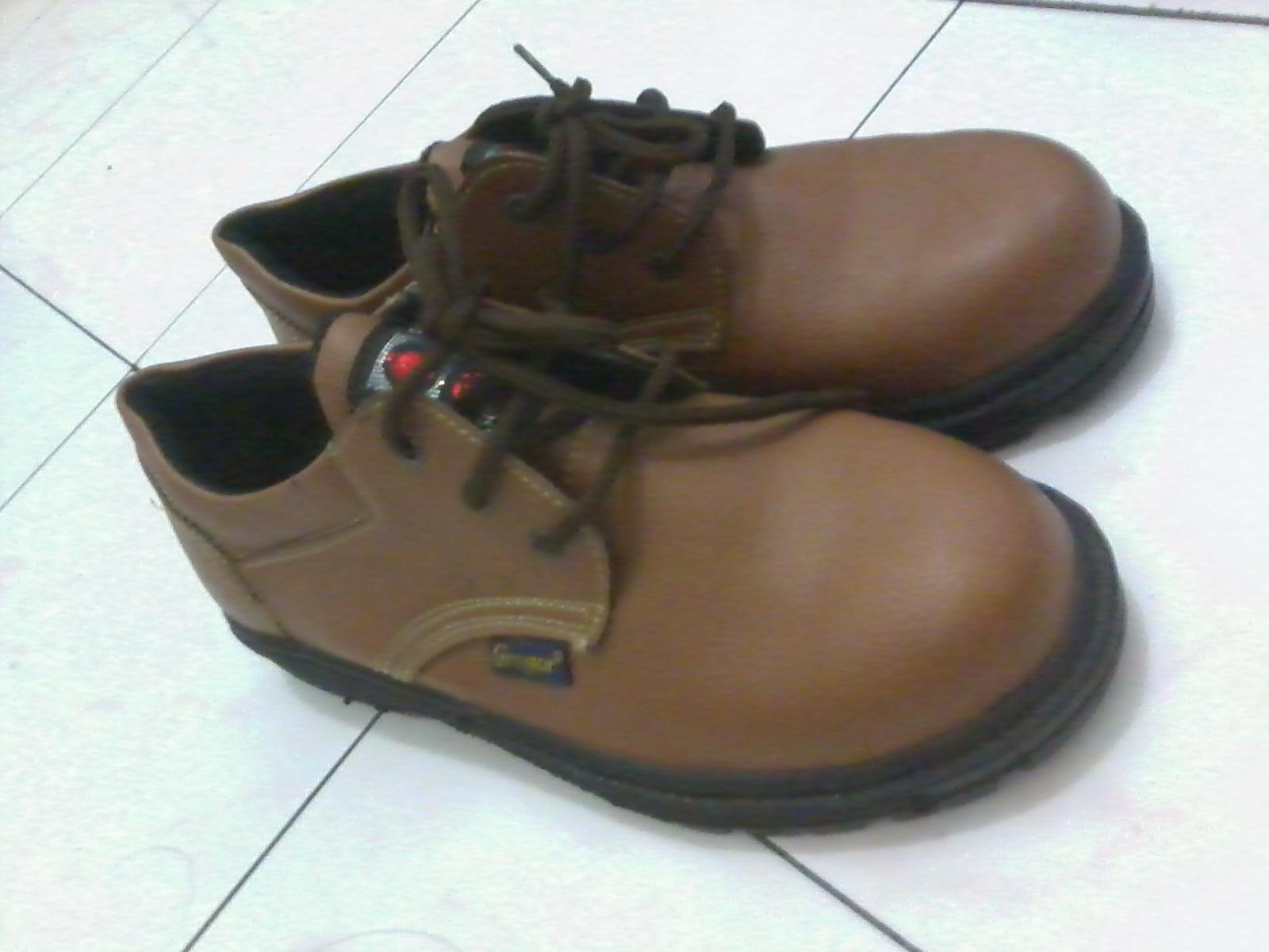 Jual Sepatu Safety Gregor Tali Murah Mocca