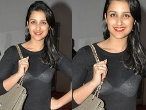 Parineeti Chopra Wardrobe Malfunction Photos
