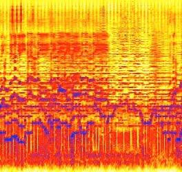 """Sezione dell'immagine """"sonogram 1.jpg"""", utente Bob di Flickr"""