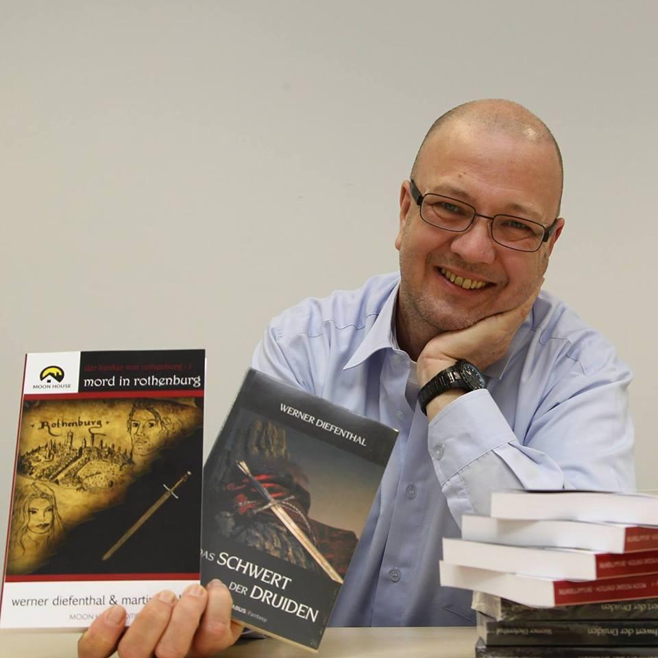 Autor WERNER DIEFENTHAL stellt sich vor.