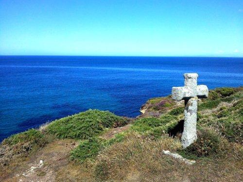 Cruz en los Molinos de Ardeleiro en Malpica Costa da Morte